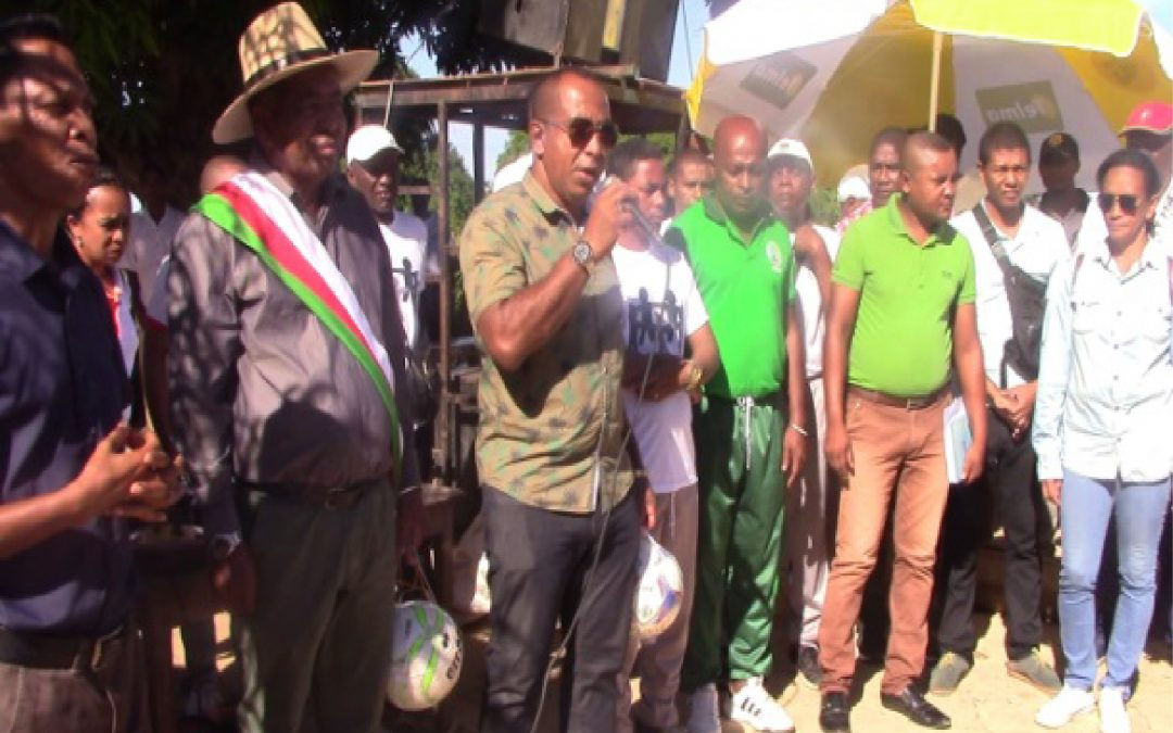 RÉGION SOFIA: La première espace verte à l'EPP Anjialava